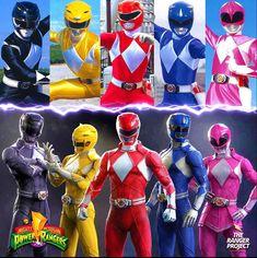 Power Rangers Reboot, Go Go Power Rangers, Power Rangers Megazord, Pawer Rangers, Mighty Morphin Power Rangers, Deadpool, Pop Culture, Pokemon, Fan Art