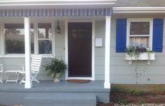 DIY porch valance