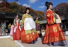 Trajes de Corea del Sur