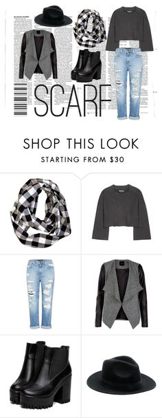 """""""Scarf"""" by fashionspecialclothes on Polyvore featuring Olsen, adidas Originals and Genetic Denim"""