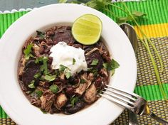 Quick and Easy Pressure-Cooker Chicken and Black Bean Stew by seriouseats… Pressure Cooker Black Beans, Pressure Cooker Chicken, Instant Pot Pressure Cooker, Pressure Cooker Recipes, Pressure Cooking, Power Cooker Plus, Black Bean Stew, Cooking For Dummies, Food Lab