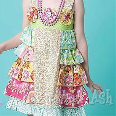 Mustard pie rainbow dress