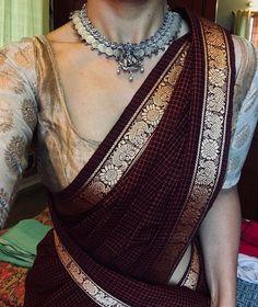 Jewellery saree-brands-margazhi-designs - Popular saree brands to shop on Trendy Sarees, Stylish Sarees, Trendy Dresses, Simple Sarees, Cotton Saree Blouse, Saree Dress, Handloom Saree, Salwar Kameez, Brocade Saree