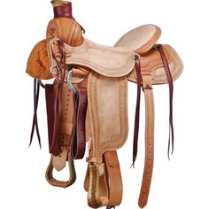 COURTS SADDLERY COMPANY - Court's Colt Breaking Ranch Roper Saddle - NRSworld.com
