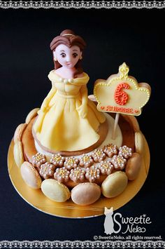 Princess Belle cheesecake