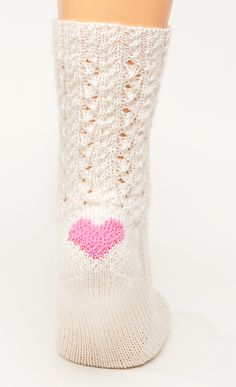 Ravelry: Heart Pattern (For Sock Heel) pattern by Jean Murdoch free pattern