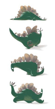 The endangered stegosaurus - Niklas Franz