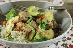 Coconut Lamb with Cauliflower Rice Recipe - Paleo Plan