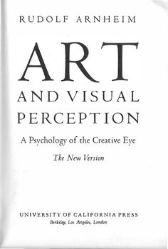 arte y percepci atilde sup n visual art essay and perception arte y percepciatildesup3n visual
