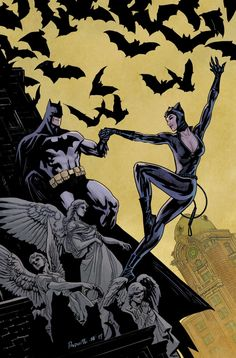 DC comics for April: this is the cover for Batman drawn by Yanick Paquette. Catwoman Comic, Batman And Catwoman, Im Batman, Batman Art, Batgirl, Batman Love, Catwoman Cosplay, Batman Arkham Knight, Batman Wallpaper