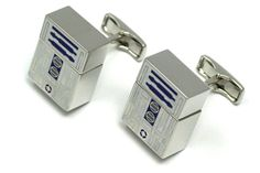 These are the R2-D2 USB Flash Drive Cufflinks you're looking for!   Geeks are Sexy Technology News