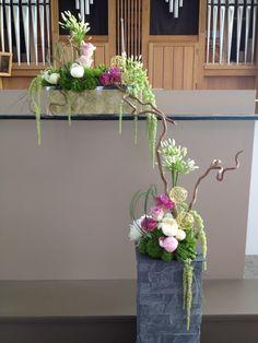 Décoration florale eglise