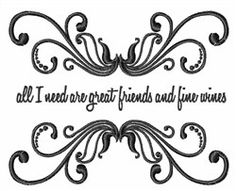 Windmill Designs Embroidery Design: Great Friends