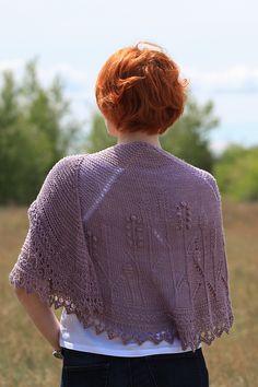 Ravelry: Morning Fields Shawl pattern by Katya Gorbacheva