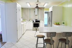 How To Paint Your Cabinets (aka: Hallelujah!)   Young House Love