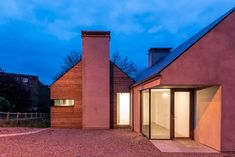 Today's is the stunning Split House; located in Douglas, Co. Cork and designed by the unbelievably talented… Cork City, New Builds, Building A House, House Design, Cabin, Modern Houses, Architecture, Outdoor Decor, Irish