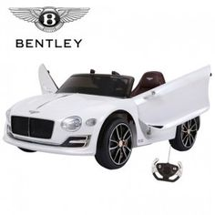 Licensed Bentley Battery Powered Ride-in Car with remote control system!time to get the little one a Bentley we think! Kids Ride On, Electric Cars, Leather, Control System, Remote, Electric Vehicle, Pilot