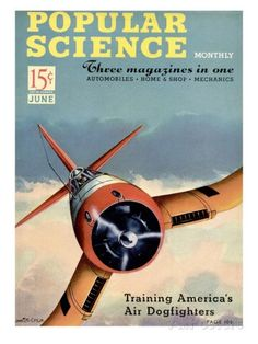 Front cover of Popular Science Magazine: June 1, 1940 Art at AllPosters.com