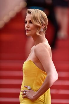 """Charlize Theron Photos - """"Mad Max: Fury Road"""" Premiere - The 68th Annual Cannes Film Festival - Zimbio"""