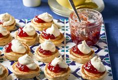 Coconut pancakes. Using coconut milk and desiccated coconut, these tropical pikelets taste amazing topped with jam and cream – they're perfect for a high tea or with a cuppa.