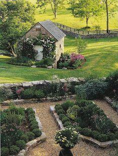 Potager garden.