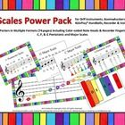 15 different scale concepts in multiple formats pages) including recorder fingerings, color-coded note heads for Boomwhackers and KidsPlay hand bells. Music Teachers, Teaching Music, Music Anchor Charts, High School Organization, Music Stuff, Getting Things Done, School Stuff, Teaching Ideas, The Voice