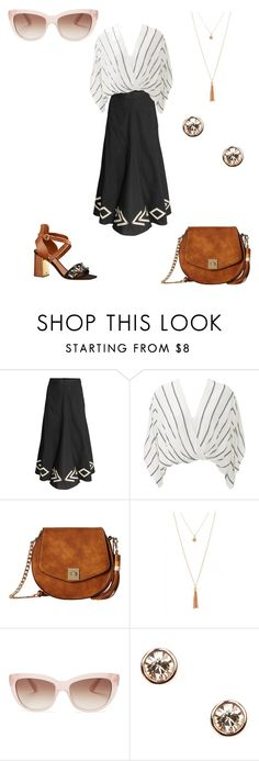 """лариса4"" by marydzhonson on Polyvore featuring мода, Free People, Louis Vuitton, Gabriella Rocha, Kate Spade и Givenchy"
