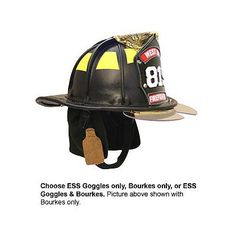 Phenix: TL-2 Traditional Leather Firefighting Helmet #TheFireStore Black with bourkes and name stamp...this is what i want