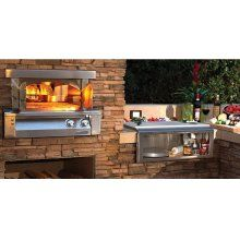 Pizza Oven Plus Built In Model Outdoor Kitchen Tampa Florida Home Appliances
