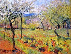 Henri Martin: Flowering Garden in Spring -1920