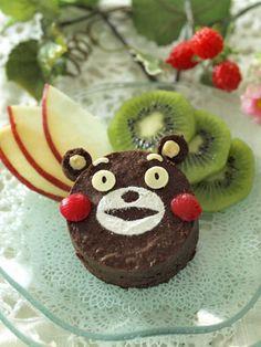 Kumamon chocolate cake