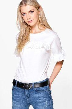 boohoo Oversized Ruffle T-Shirt - cream DZZ59902 Ria Oversized Ruffle T-Shirt - cream http://www.MightGet.com/january-2017-13/boohoo-oversized-ruffle-t-shirt--cream-dzz59902.asp