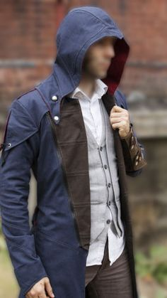 Assassins-Creed-Unity-Arno-Dorian-Denim-Cloak-Cosplay-Costume-with-Hoodie