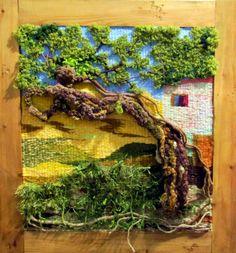Gallery.ru / Фото #42 - Tapices 5 - griega Weaving Textiles, Weaving Art, Tapestry Weaving, Loom Weaving, Hand Weaving, Textiles Techniques, Weaving Techniques, Textile Fiber Art, Textile Artists