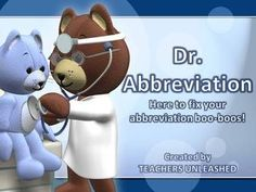 $  Dr. Abbreviation - Guided Practice and Test Prep.  By Teachers Unleashed