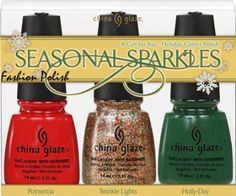 China Glaze Seasonal Sparkle Gift Set: Beauty