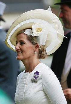 Sophie, Countess of Wessex during day two of Royal Ascot at Ascot Racecourse on June 18, 2014 in Ascot, England.