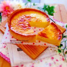レシピあり!スライスチーズで♪即日完売!とろける〜♡半熟チーズタルト★ | chioさんのお料理 ペコリ by Ameba - 手作り料理写真と簡単レシピでつながるコミュニティ -