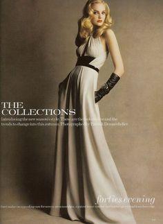 Caroline in Vogue UK August 2007