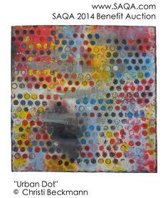 Art quilt by Christi Beckmann #artquilts #SAQA