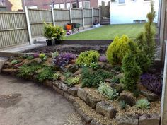 images about Rockeries on Pinterest Rockery garden