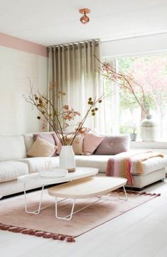 38 Modern Home Decor To Keep Now - Home Decoration Experts Pastel Interior, New Interior Design, Interior Shop, Interior Livingroom, Interior Modern, Home Decor Trends, Home Decor Styles, Living Room Designs, Living Room Decor