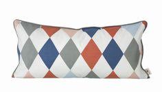 Ferm Living Organic Happy Harlequin Pillow