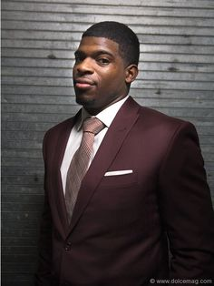 PK Subban of the Montreal Canadiens - Sharp dressed man Hot Hockey Players, Nhl Players, Ice Hockey, Montreal Canadiens, Hockey Pictures, Sharp Dressed Man, Well Dressed, National Hockey League, Fashion Games