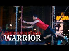 Joe Moravsky at Stage 2 of the American Ninja Warrior 2014 National Finals