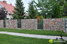 Nowoczesne ogrodzenia z kamienia | gabiony - gabiony, kosze gabionowe