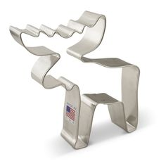 Moose Cookie Cutter by Ann Clark Cookie Cutters. Made in USA!