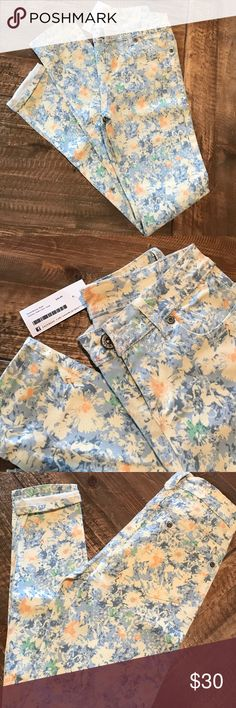 MINT boutique Floral Skinnies Gorgeous! The perfect Summer pants. Pastel Bloom Multi Color Skinnies MINT Jeans Skinny