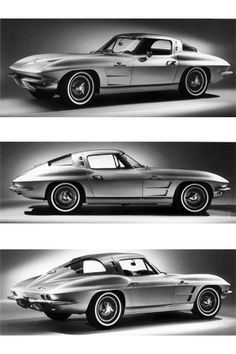 1963 Corvette Sting Ray my cousin Richard had one hot off the assembly line. It was white and loved riding in it!