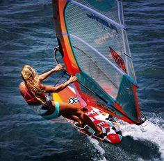 Windsurfing goddess